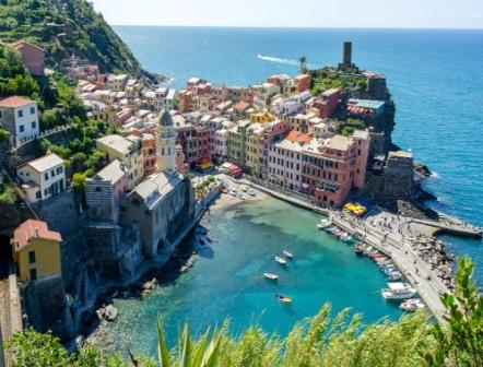 Vernazza panoramic view
