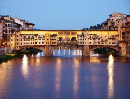 Ponte Vecchio by night, Florence